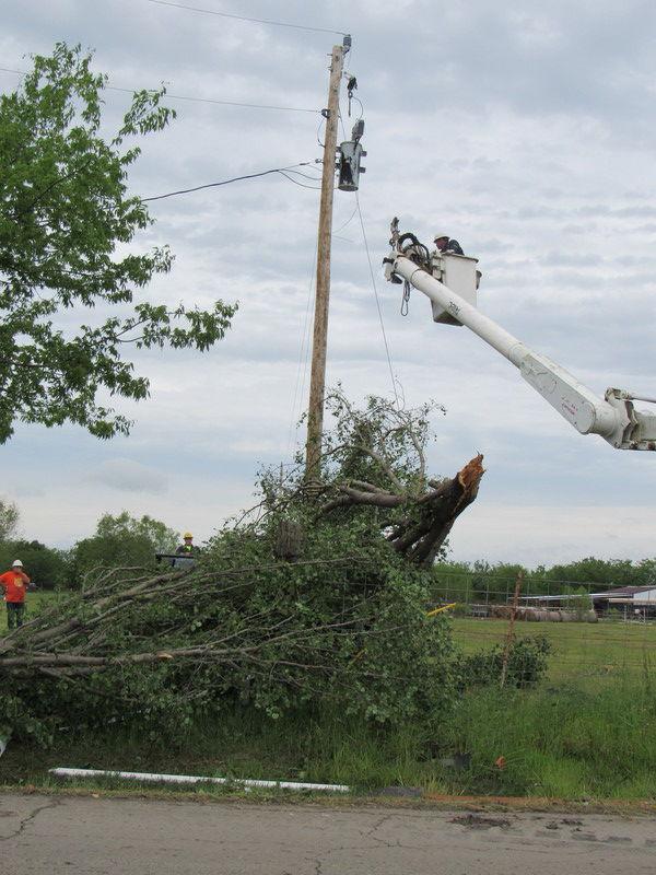 Storm devastates area homes