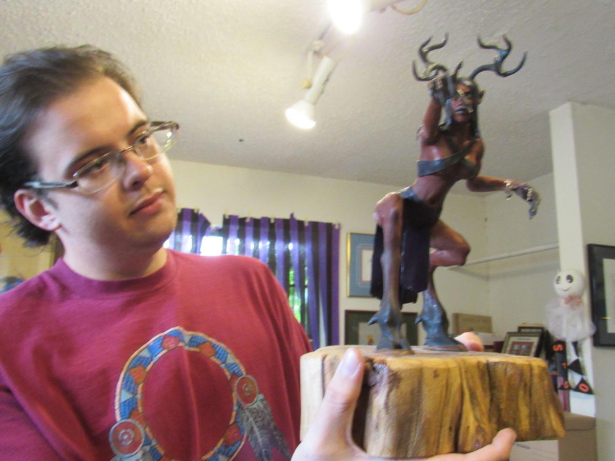 Okie from Muskogee: Artist's family critique work
