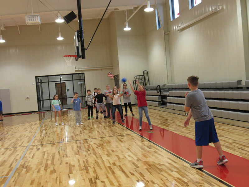 New gym provides expansive space for students