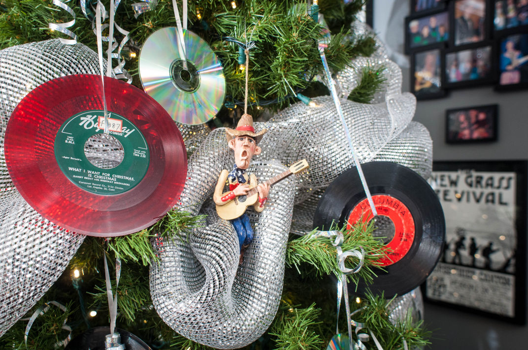 Records as ornaments