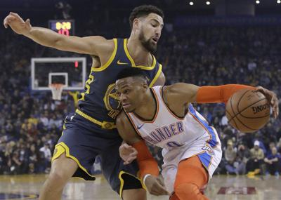 THUNDER: Golden State victory propels Thunder into homestand
