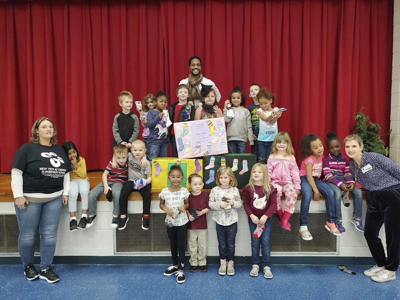 Local students work hard to help others