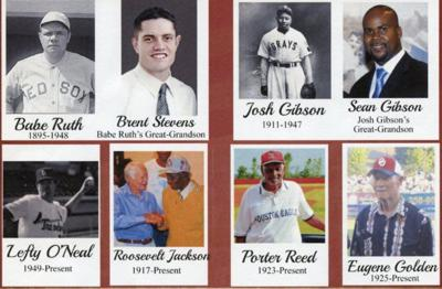 Baseball legends to be honored