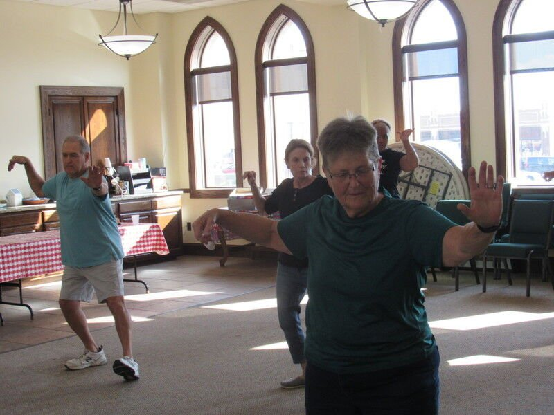 Exercise benefits participants at local churches
