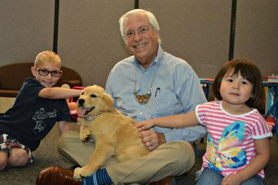 Pup to help foster children integrate into homes