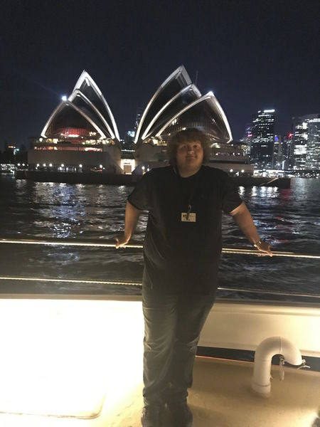 Wilkie performs in Sydney Opera House