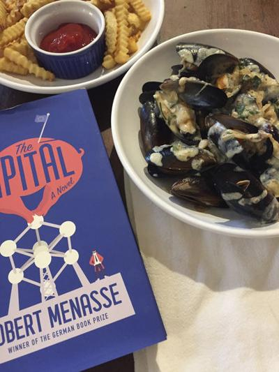 Food by the book: Political satire leads to good taste in 'The Capitol'