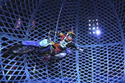 Daredevils bring thrills to Muskogee Civic Center