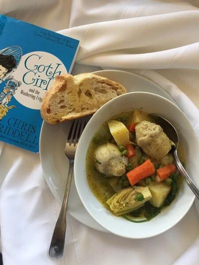 """FOOD BY THE BOOK: """"Goth Girl"""" series contains four short novels perfect for summer reading fun"""