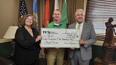 TTCU Federal Credit Union donates $7,500 to NSU
