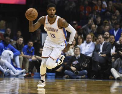 THUNDER: George remains in linefor All-Star start; Westbrook, George may have to be selected by coaches