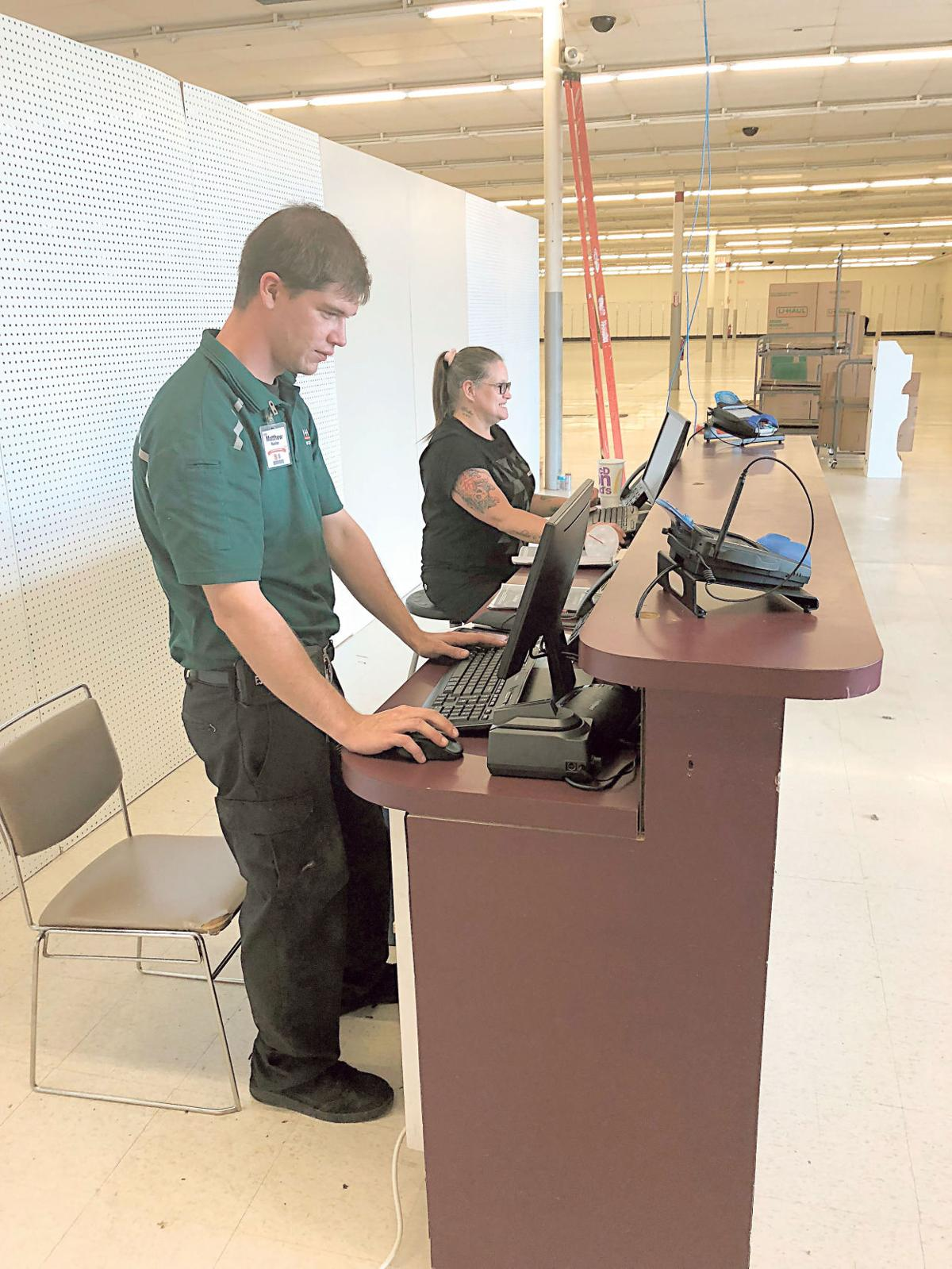 New U Haul Station In Old Kmart Building Represents Changing