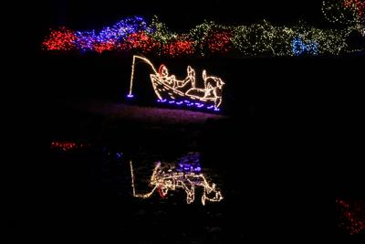 Ewing Park Christmas Lights 2020 Honor Heights Park, The Castle of Muskogee ready for holiday