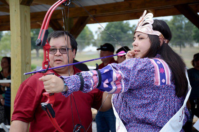 Cherokee Nation archery range opens