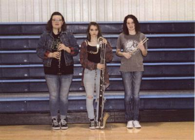 Three Oktaha High band members make All-District Band   News