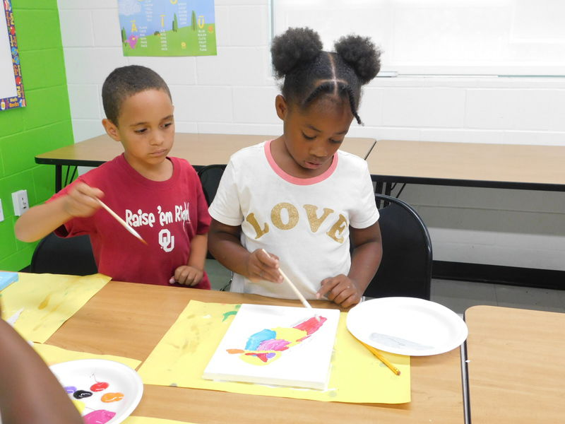 Students' art work to be displayed
