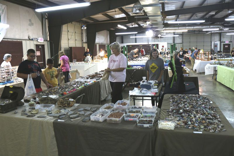 Rock hounds put on annual show