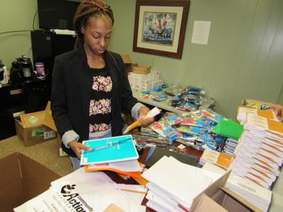 MCCAF stockpiles school supplies