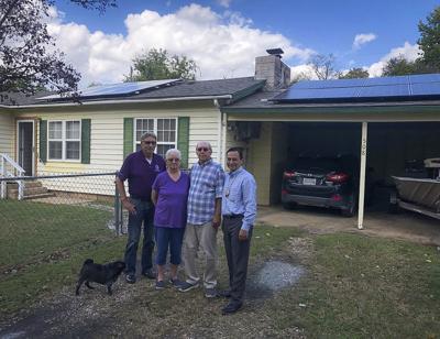 Pilot program uses solar power to reduce energy costs