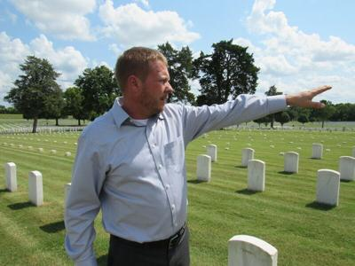 New director settles in at National Cemetery