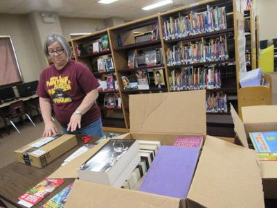 New York woman kickstarts book drive for Porum School Library