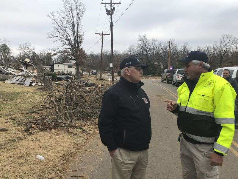 Oklahoma Insurance Commissioner visits tornado-stricken areas