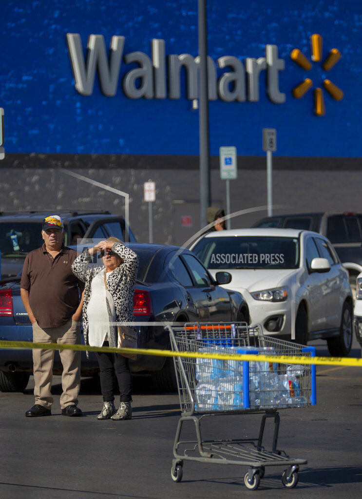 Names Ided In Deadly Domestic Dispute Outside Walmart In Duncan