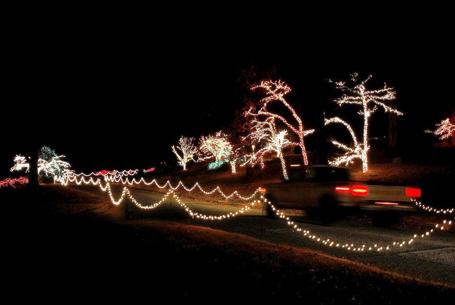 Honor Heights Park Muskogee Ok Christmas Lights The Future