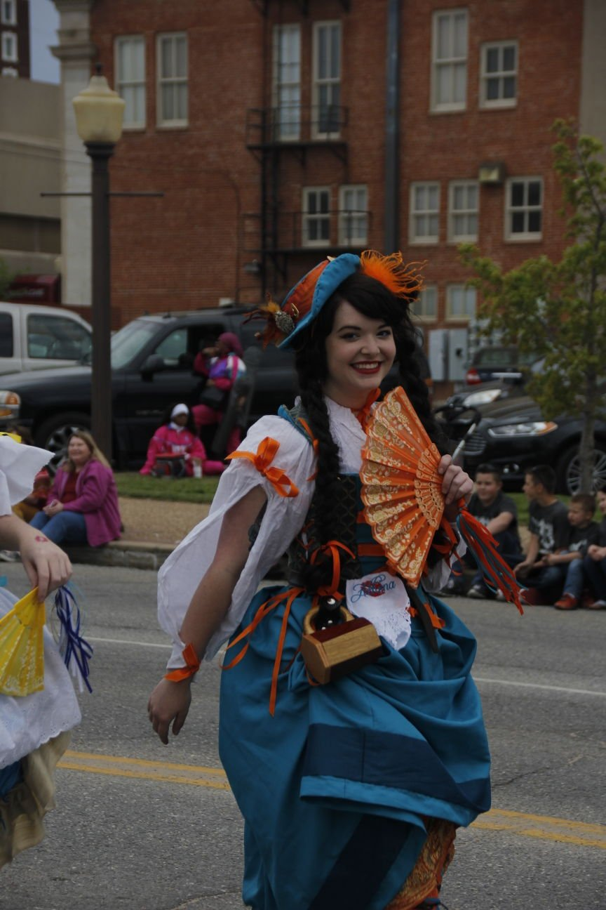 Jester in parade