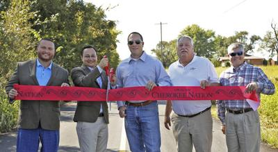 County partners with Cherokee Nation on road project