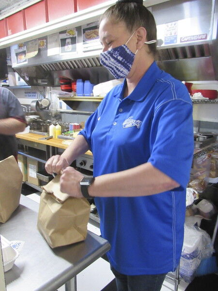 Okie from Muskogee: Payne enjoys the fruits of her labor