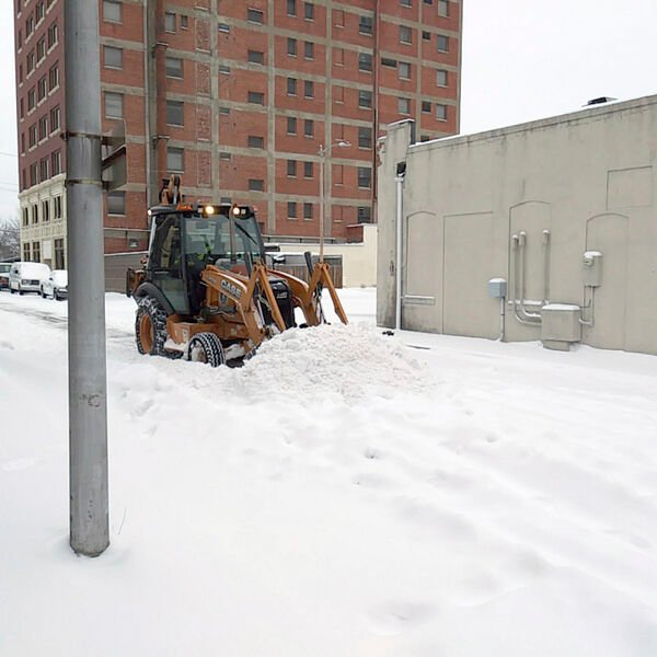 City and county moves on after second snow storm.