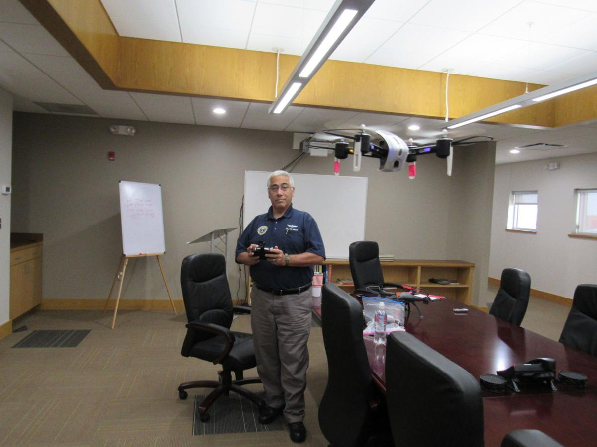Okie from Muskogee: Unwin finds himself in the air — in planes or using drones