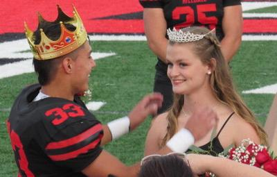 Hilldale royalty takes the field for Homecoming