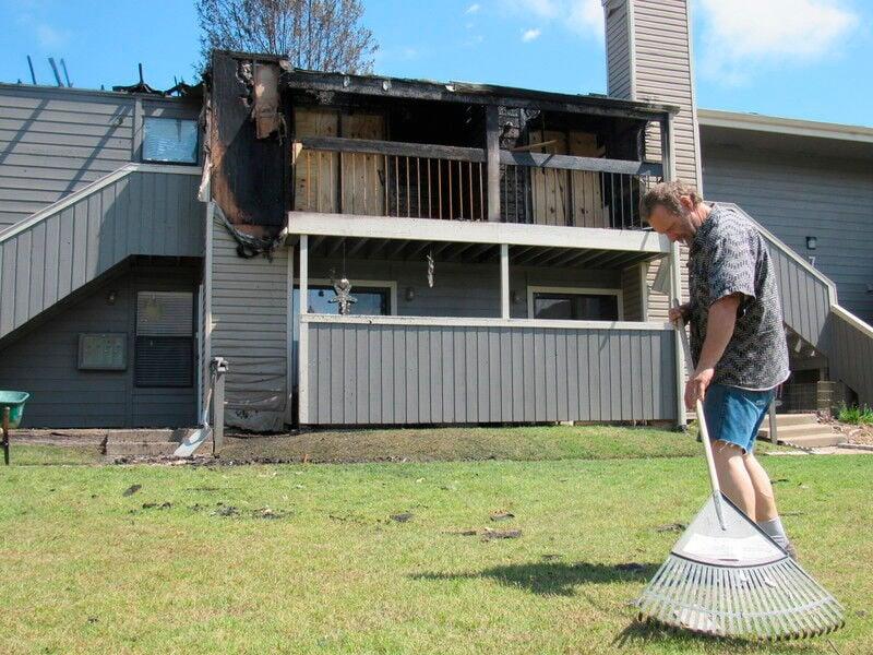 Apartment fire deemed accidental