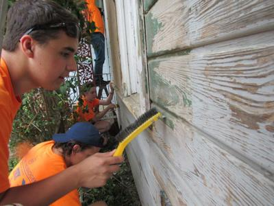 Local teens on a mission to help residents
