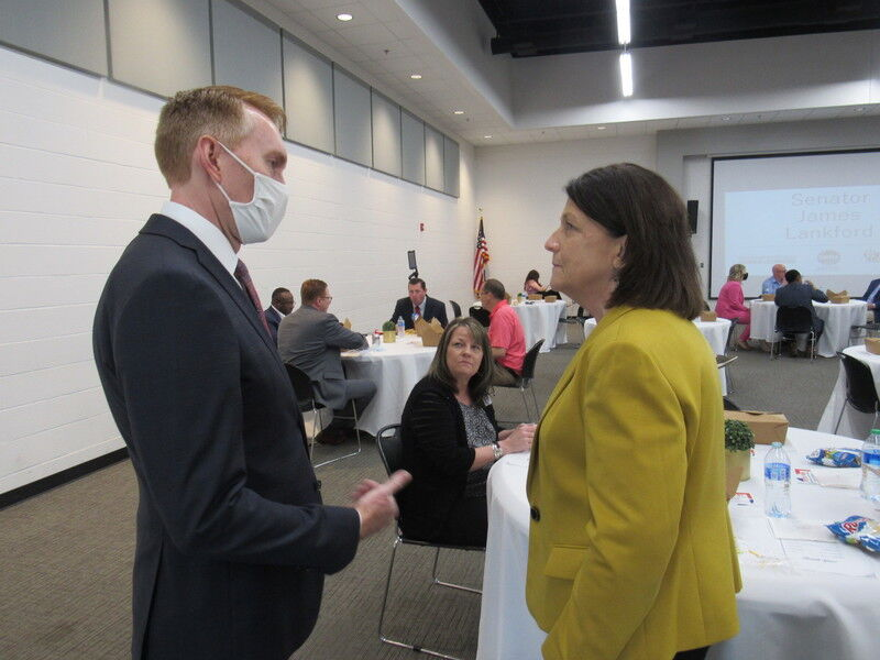 Lankford spends day with Muskogee area constituents