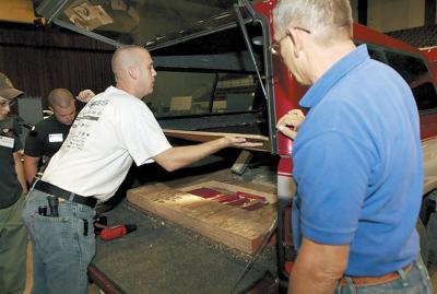 Hidden drug how-to: Law officers train to thwart smugglers