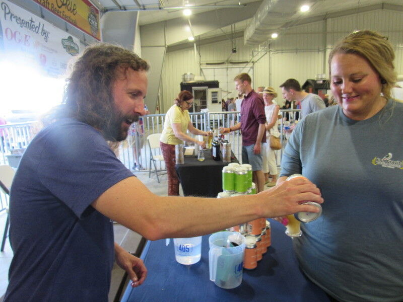 Attendees find their favorites at Real Okie Craft Beer Festival