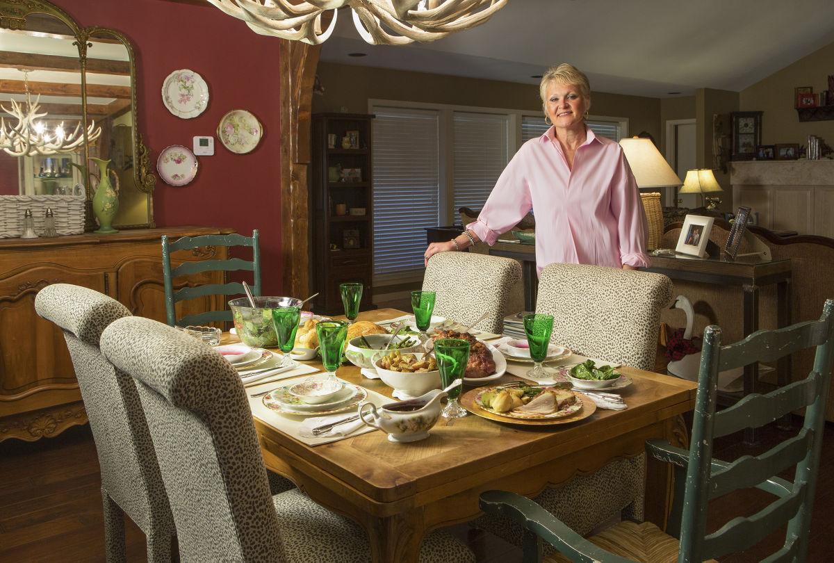 Sue Vanderford holiday meal