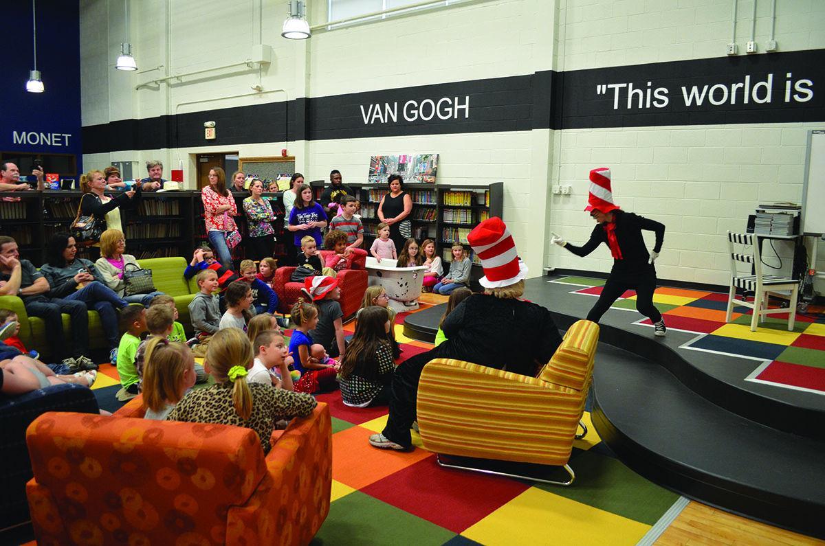 Schools Sadler Celebrates Dr Seuss Literacy Night News