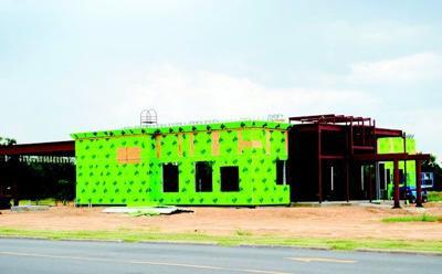 Arvest Bank branch under construction | Archives