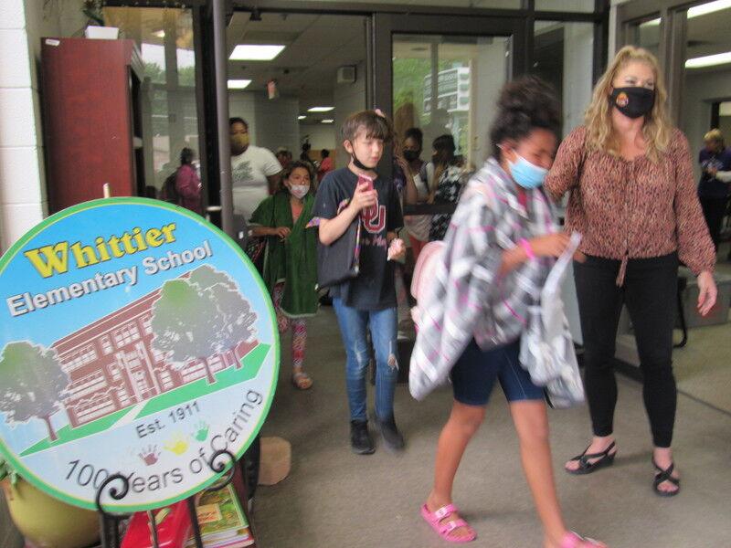 Students, staff bid farewell to Whittier Elementary School