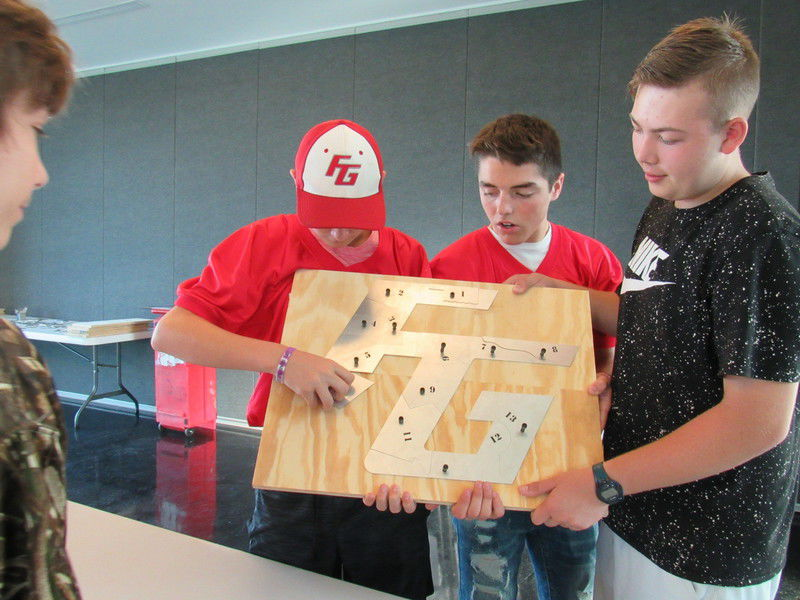 Students learn about manufacturing jobs