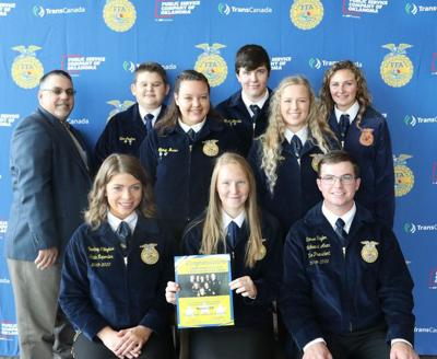 Warner FFA chapter takes part in conference