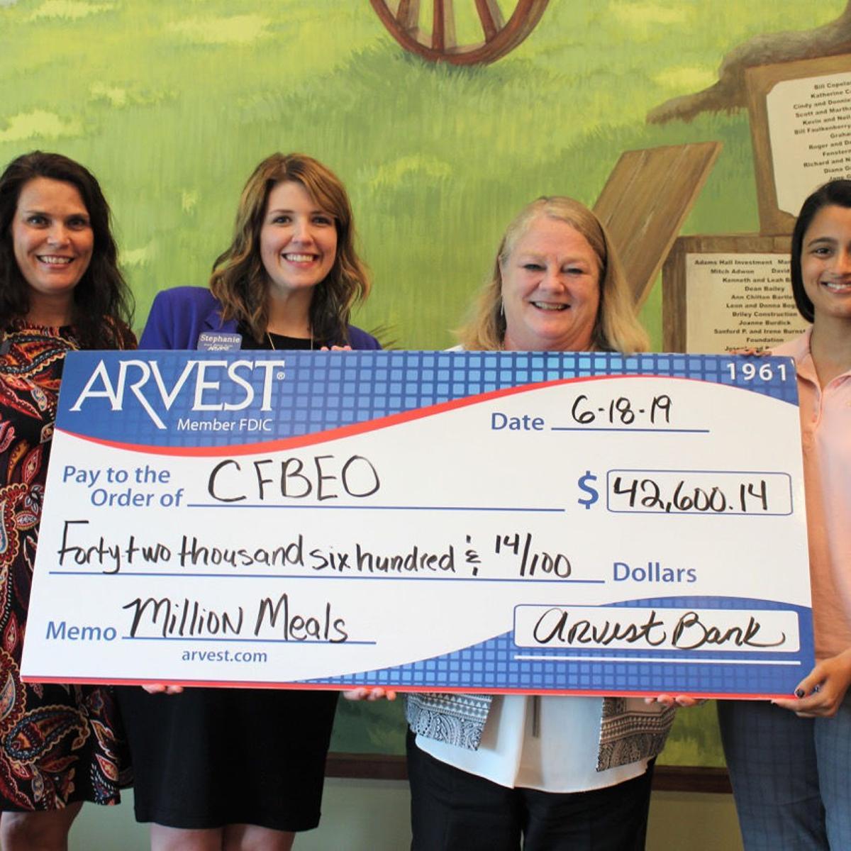 Arvest Bank concludes Million Meals campaign | News