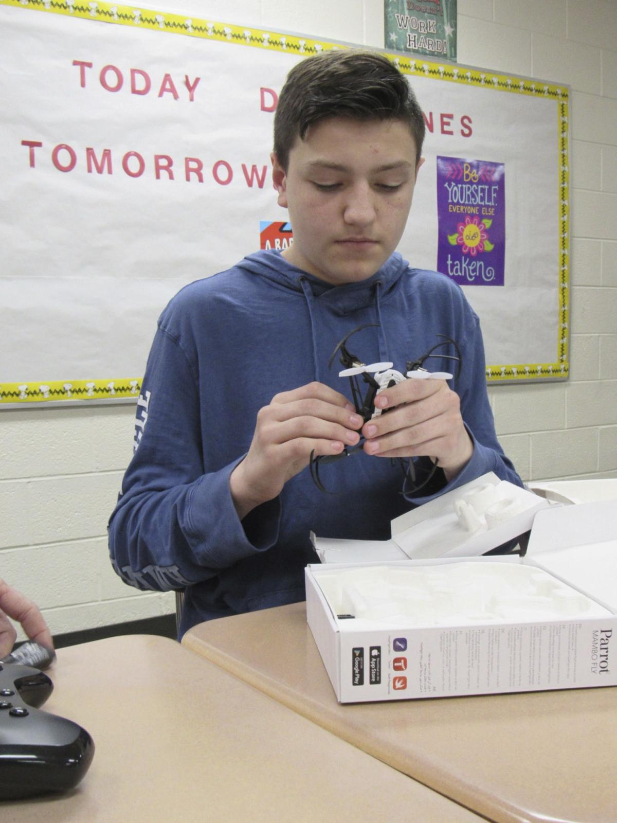Students compete in after school STEM program