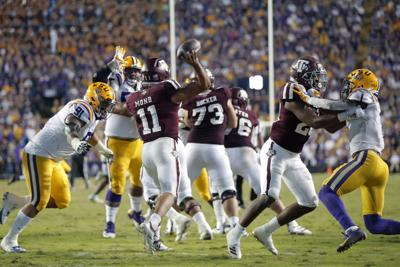 Texas A M LSU Football