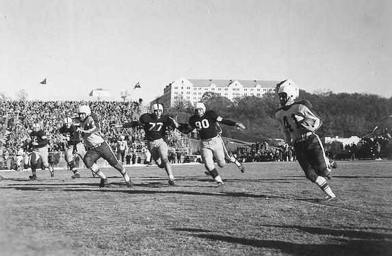 1951 game vs Arkansas