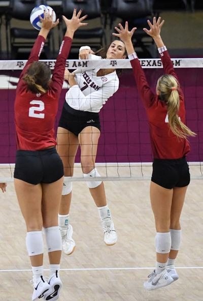 AG Volleyball vs Sooners